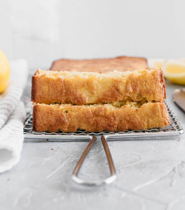 healthy summer recipes - Healthier Lemon Loaf Recipe