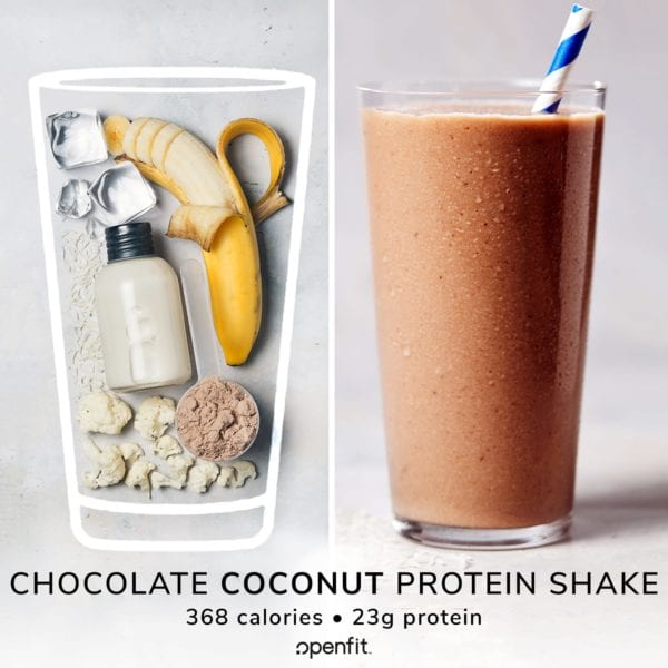 coconut chocolate shake - b/a ingredient image