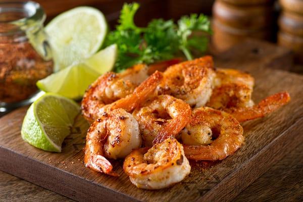 best protein sources - shrimp