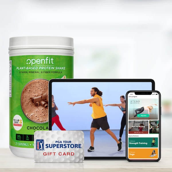 pga announcement - pga bundle package of openfit products