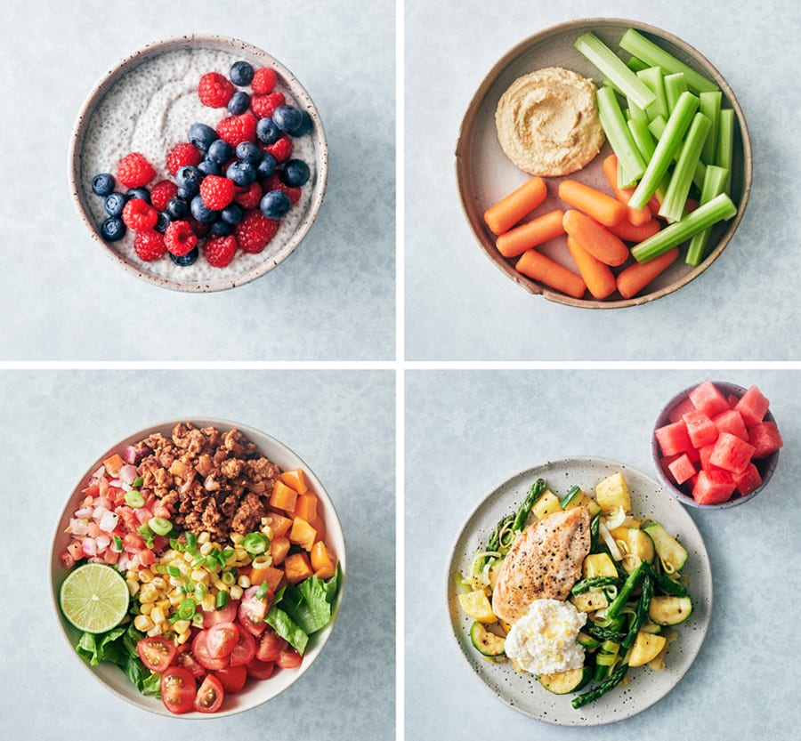 Xtend Barre Meal Prep