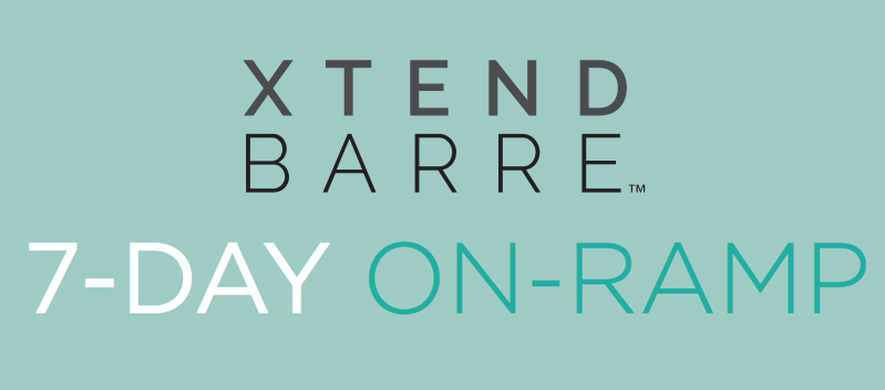 Xtend Barre 7-day calendar