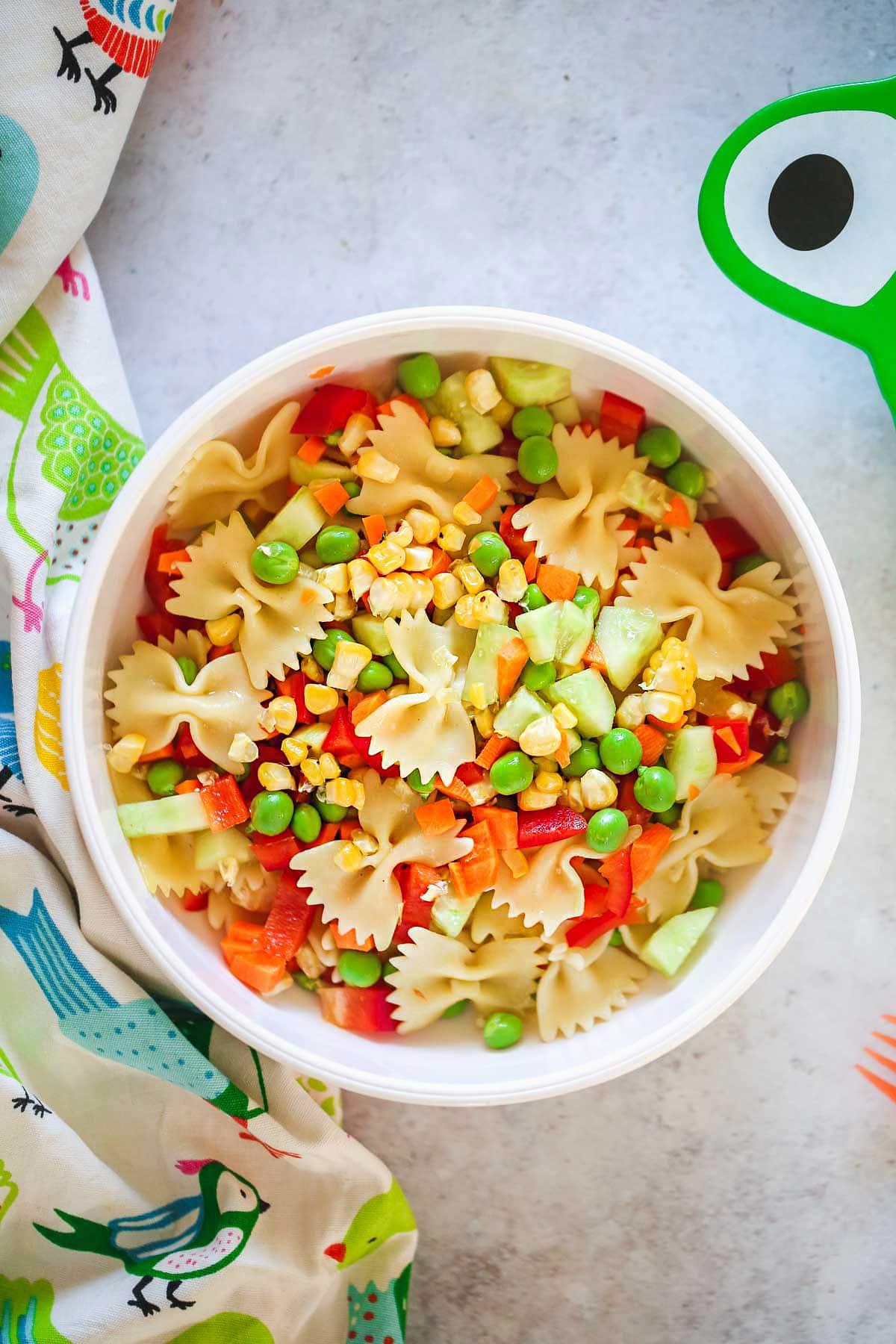 kid friendly meal preps - kid friendly pasta