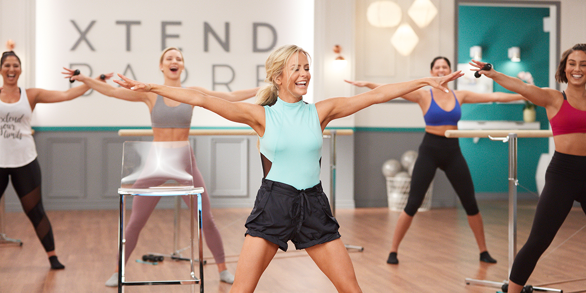 barre arms - xtend barre workout