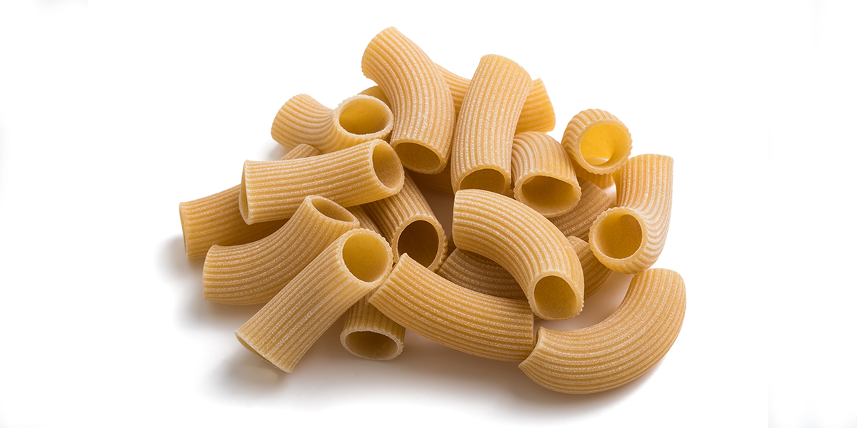 How To Eat More Protein - chickpea pasta on white