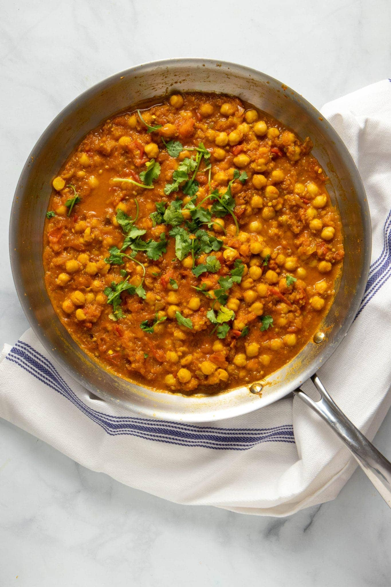 chickpea recipes - chana masala