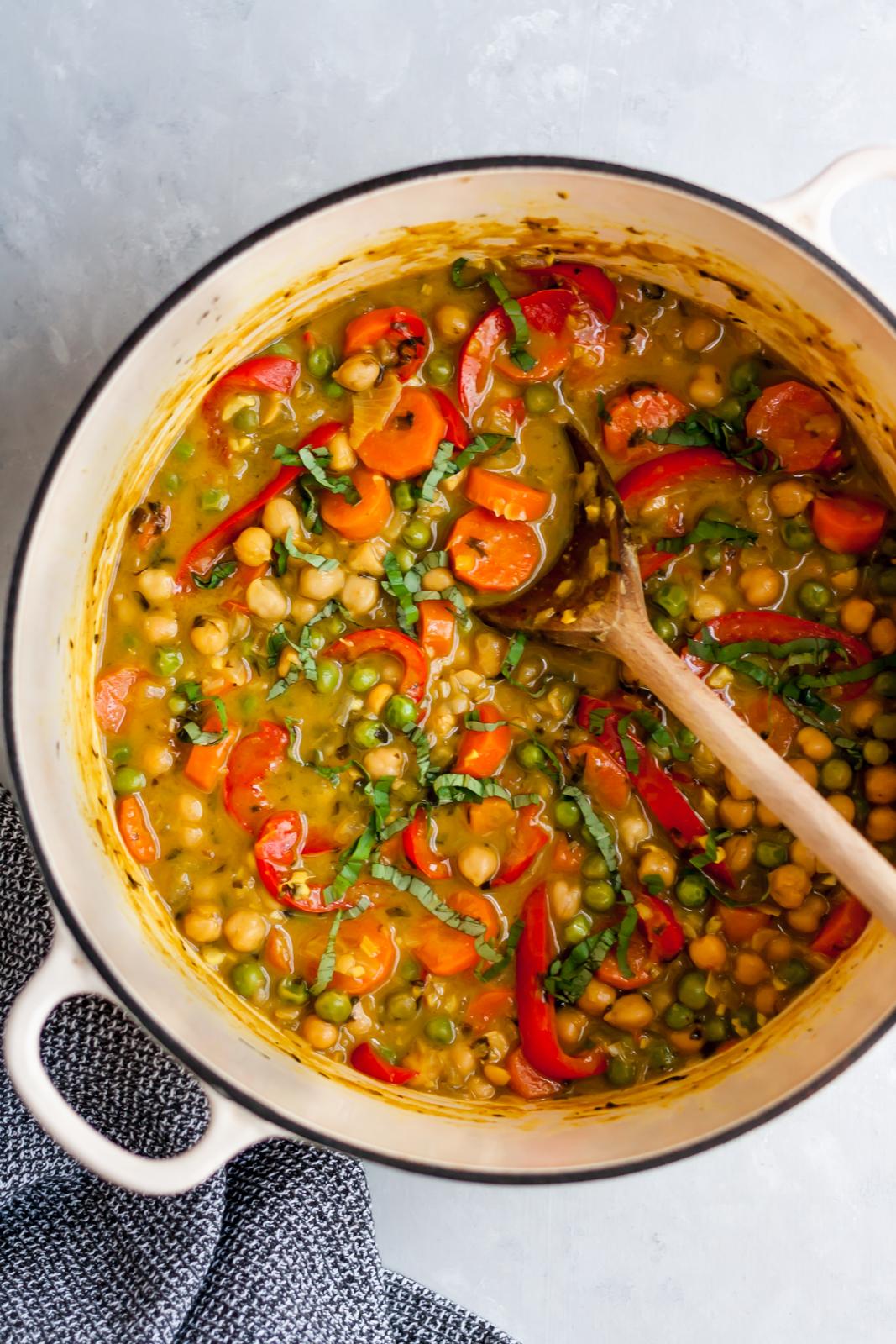 chickpea recipes - lemngrass curry