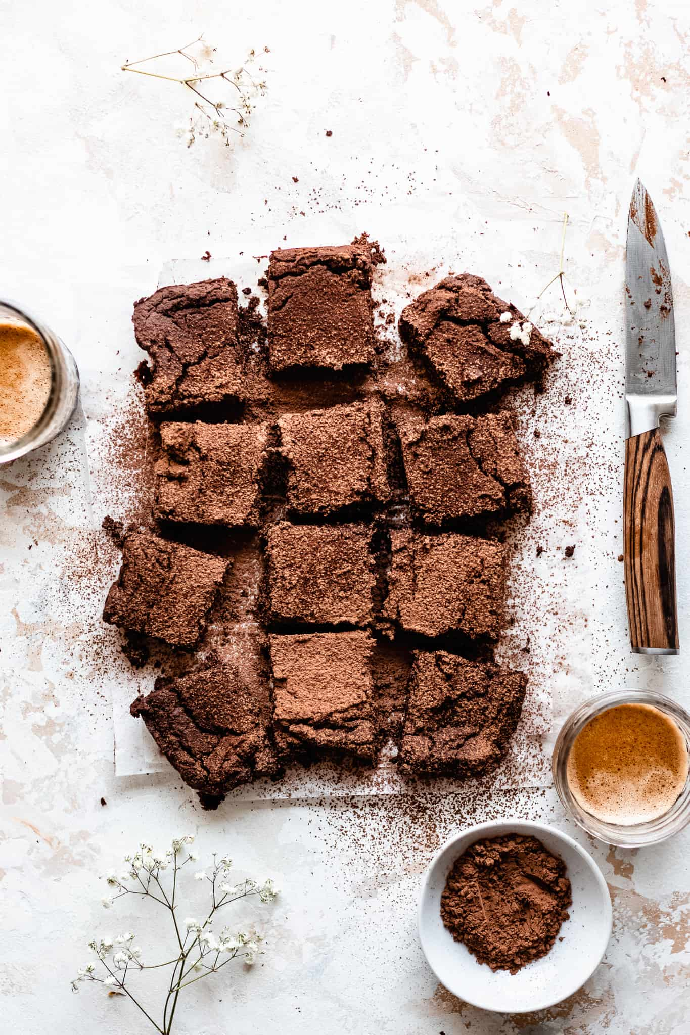 chickpea recipes - chickpea brownies
