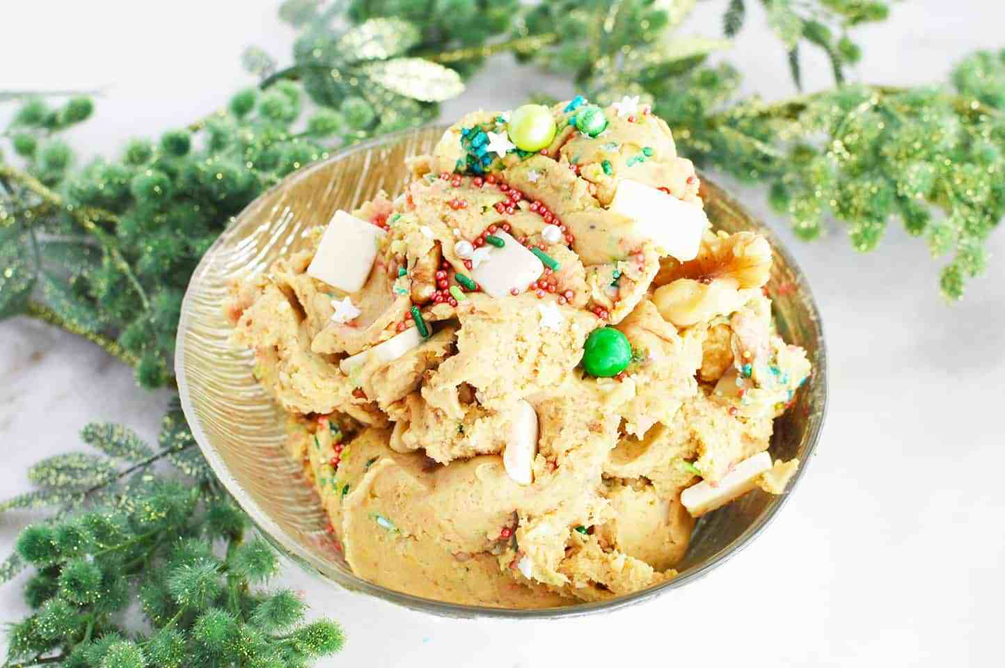 chickpea recipes - healthy cookie dough