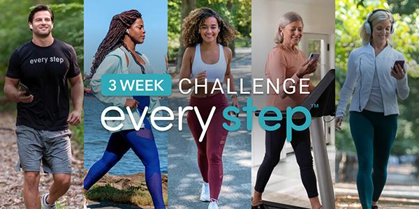 every step 3 week challenge