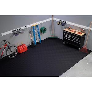 home gym flooring - home depot mat
