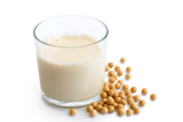 How To Eat More Protein - soy milk