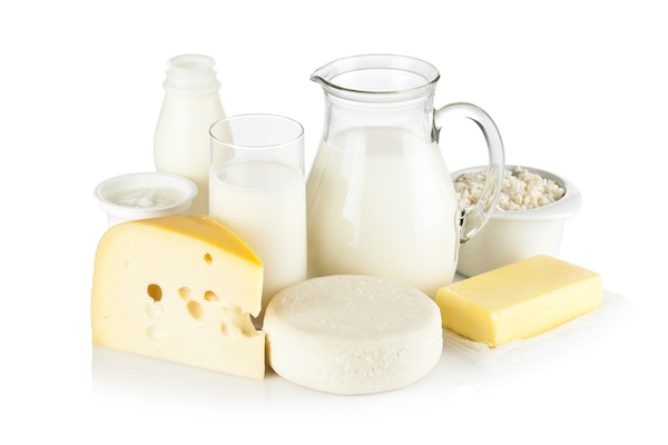types of vegetarians - dairy products