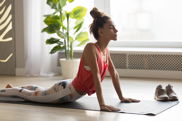 Breathing Techniques For Exercise - deep breathing in yoga