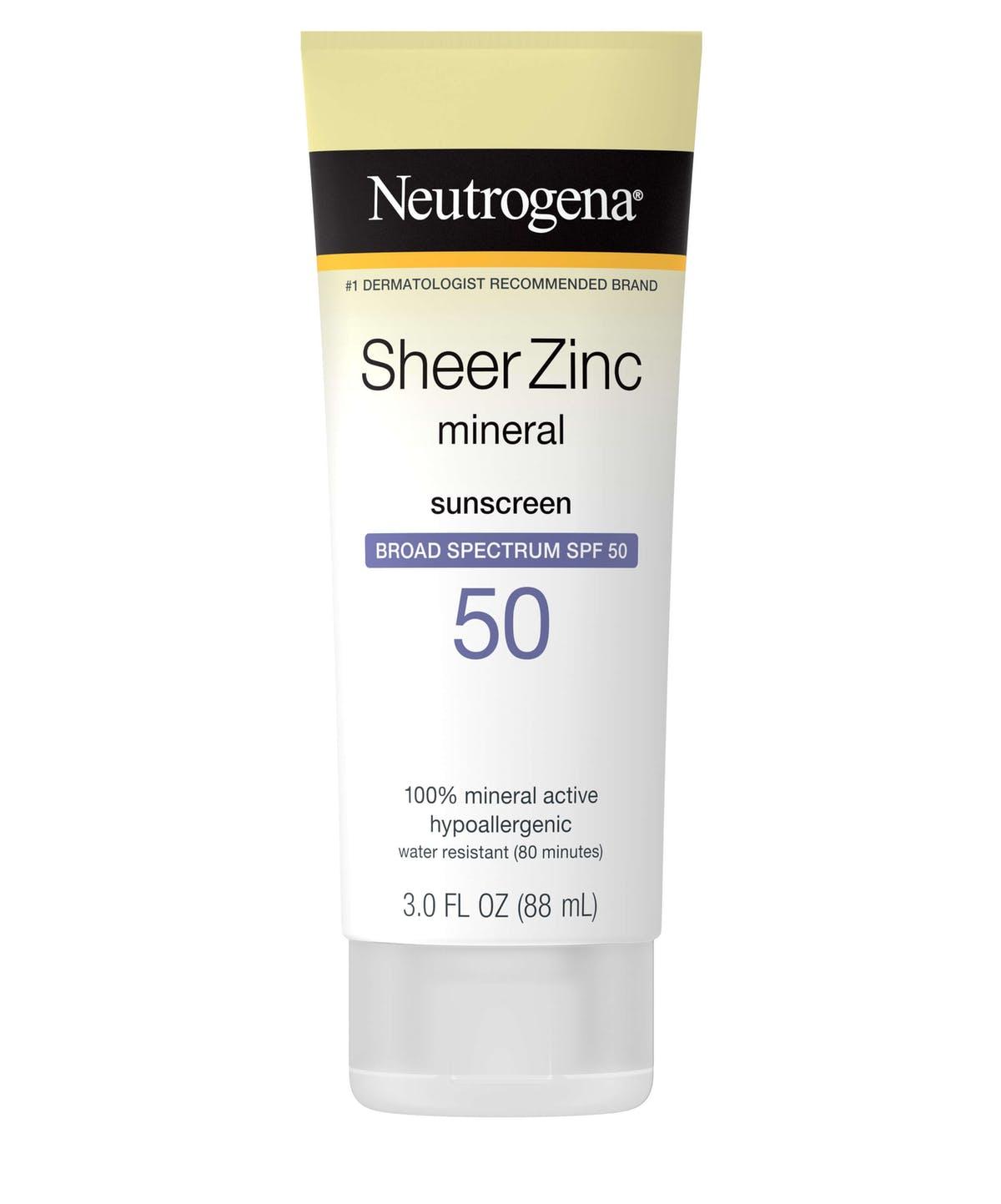 sunscreen indoors - nuetrogena
