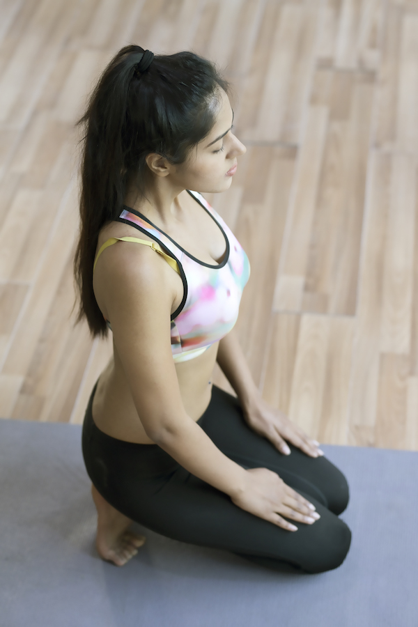 yoga for runners - toe stretch