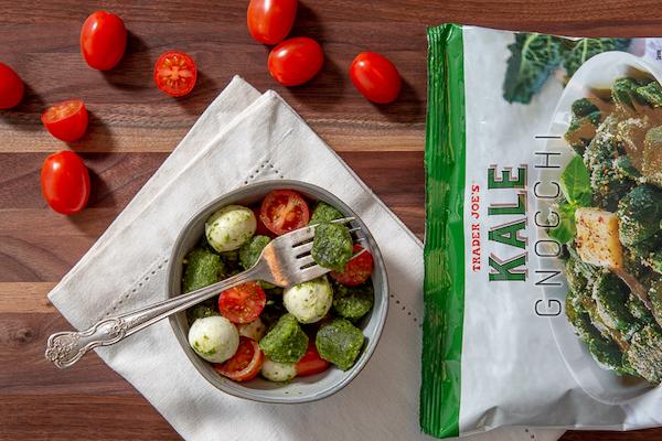 sugar free 3 trader joes - kale gnocchi