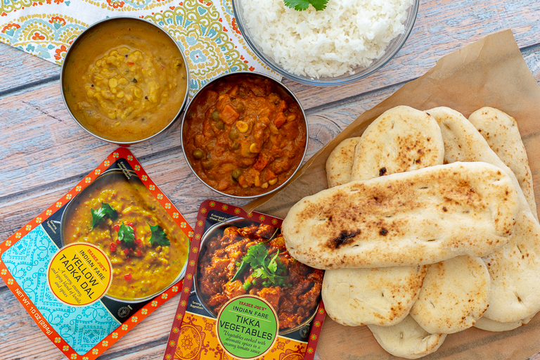 sugar free 3 trader joes - indian meals