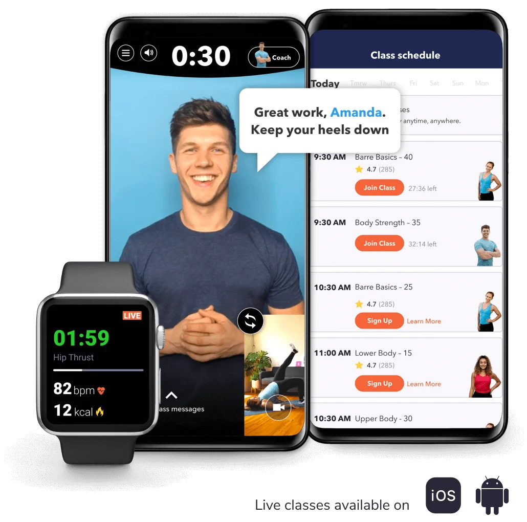 apple watch - openfit live on apple watch