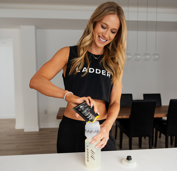 kelsey using ladder supplements | ladder by openfit