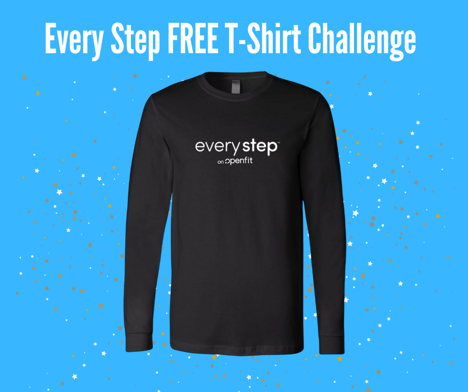 every step t-shirt | every step