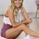 andrea sitting in studio | andrea rogers openfit xtend barre