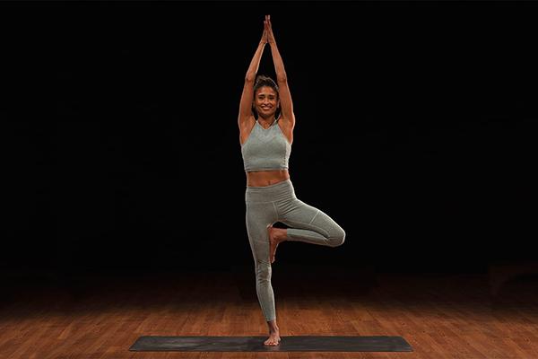 micki duran tree pose   playlist for yoga
