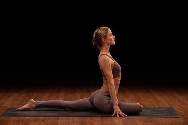 odette hughes pigeon pose   playlist for yoga