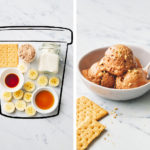 before and after of s'mores pbps ice cream | smores pbps ice cream