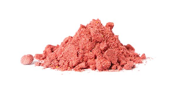 mound of cherry powder   tart cherry powder