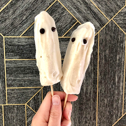ghost popsicles | alternatives to trick or treating