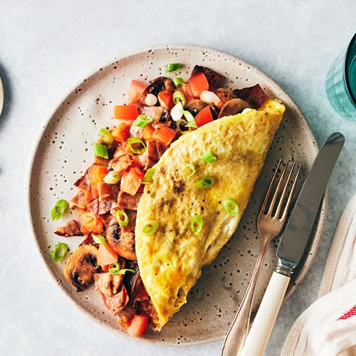 hearty omelet | healthy fall recipes