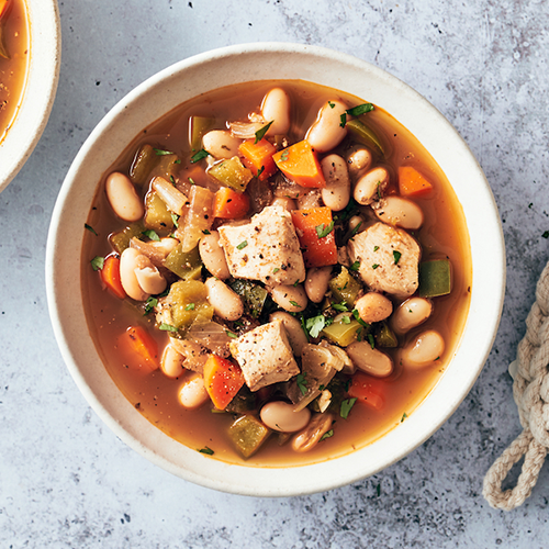 white bean chicken chili | healthy fall recipes
