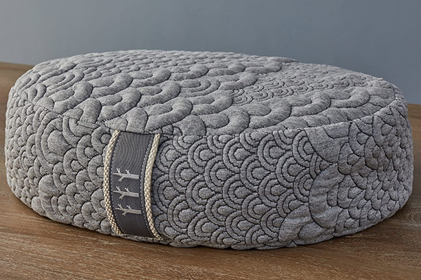 Brentwood Home Crystal Cove Oval Meditation Cushion | meditation pillow
