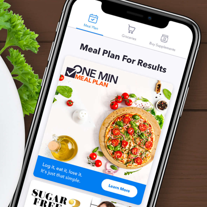 New On Openfit - One Min Meal Plan