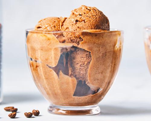Chocolate Mocha Protein Ice Cream | creative recipes with pbps