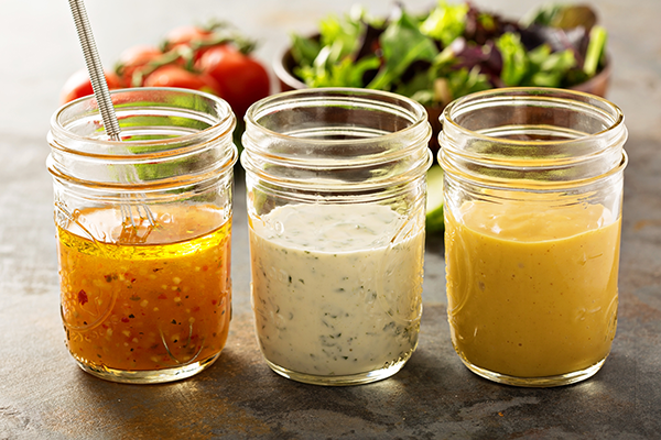 3 salad dressings | how to eat dates