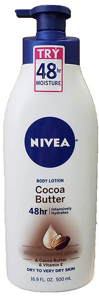 nivea body lotion | andrea rogers skin care routine