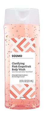 solimo body wash | andrea rogers skin care routine