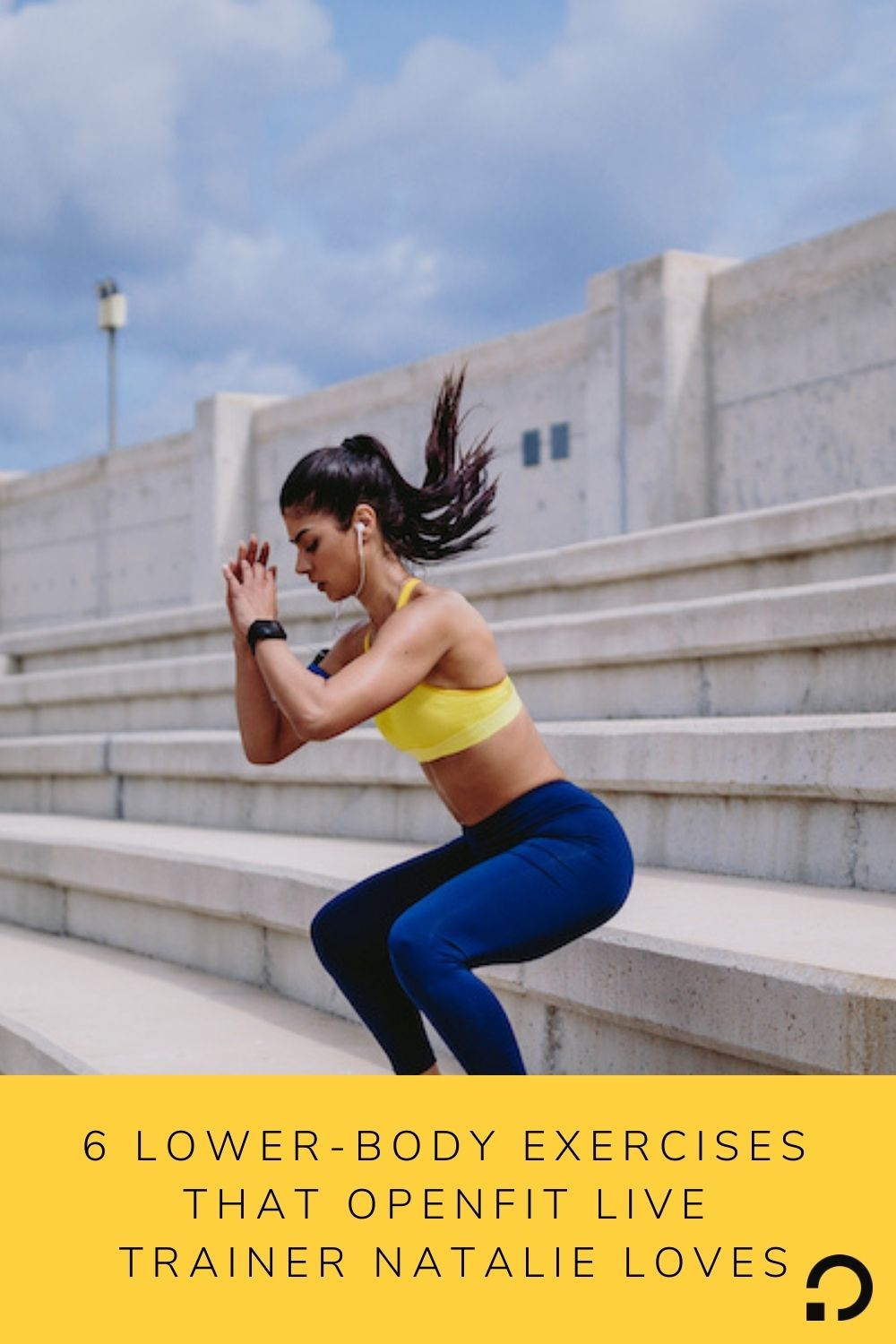 pin image for trainer natalie   lower body exercises live trainer