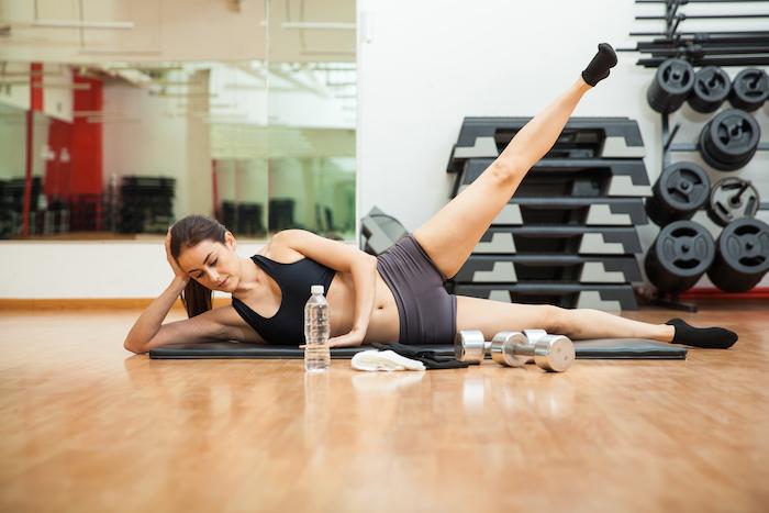side leg lift | pilates leg exercises