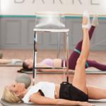 andrea rogers leading leg circles | pilates leg exercises