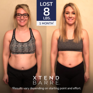Xtend Barre Openfit Results