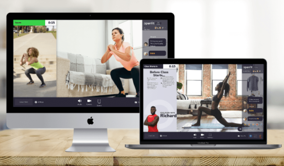 Streaming Openfit Live Classes