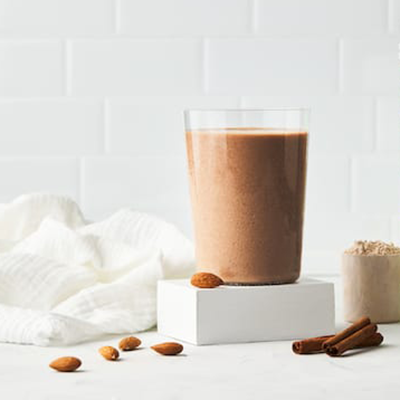 spiced almond shake | creative recipes with pbps
