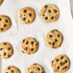 gluten free chocolate chip cookies pinterest image | gluten free chocolate chip cookies