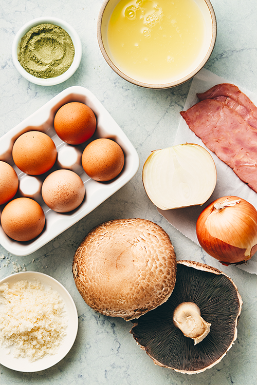 omelet muffin ingredients | egg omelet muffin