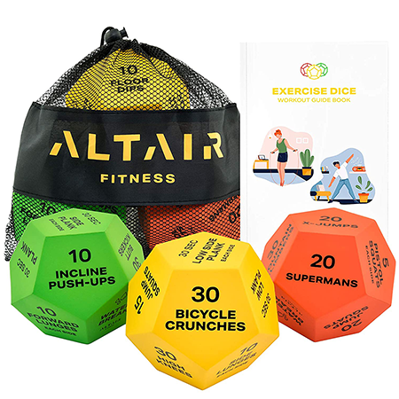 altair exercise dice | amazon gifts
