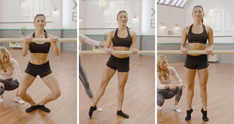 plie tendu and releve demonstrations | ballet positions