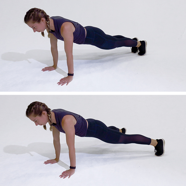 plank jack | 10 minute ab workout